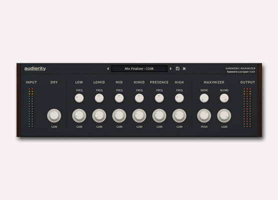 Audiority Harmonic Maximizer