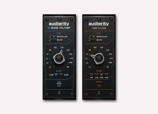 Audiority Side Filter + Low Filter
