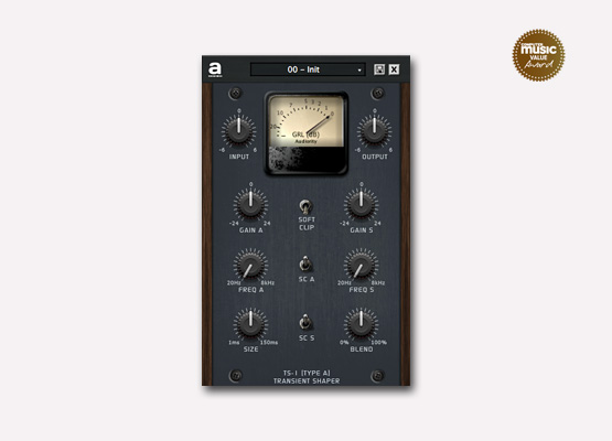 Audiority TS-1 Transient Shaper