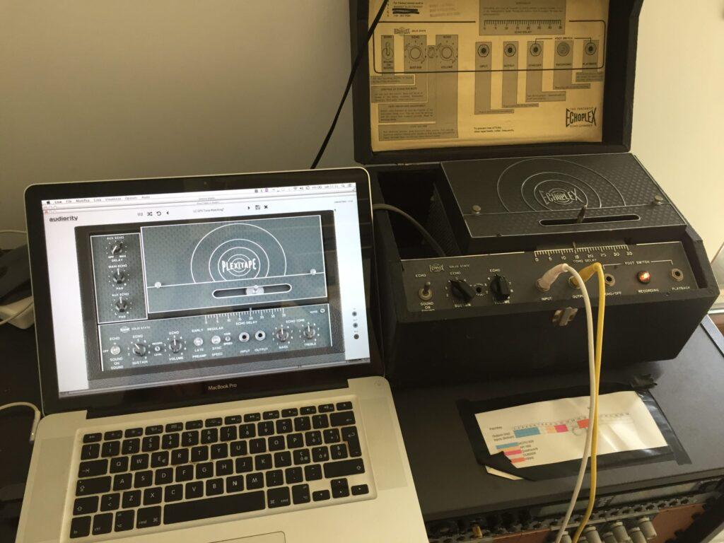 PlexiTape Echoplex Hardware