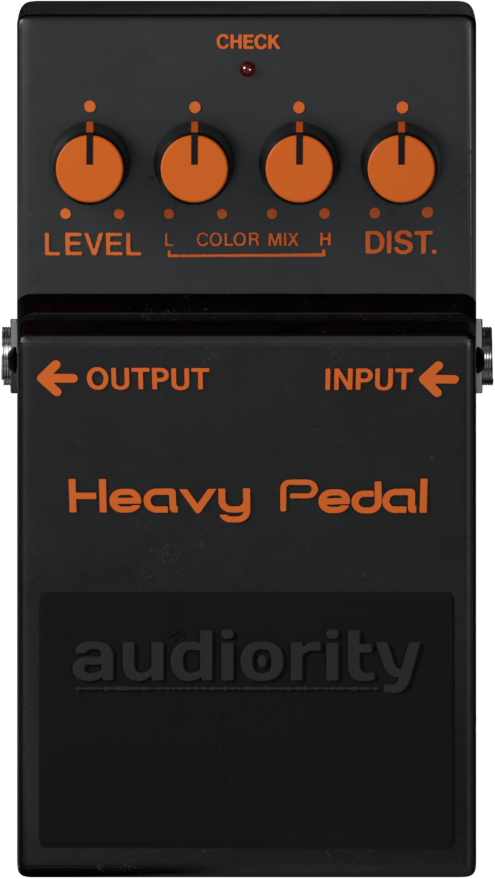 Audiority Heavy Pedal